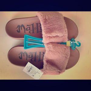 Mad Love Women's Pheobe Slide Sandal, Muave